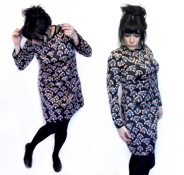 Psychedelic Sally Kleid Dress