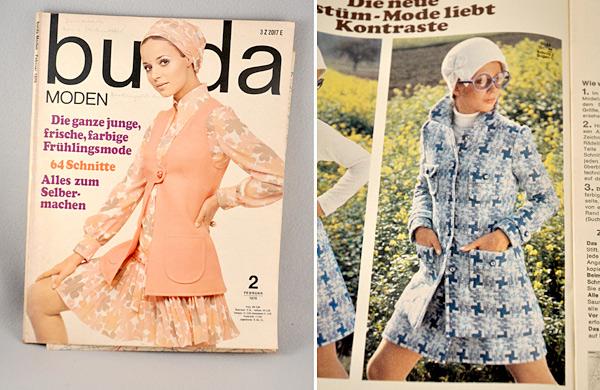 Mantelschnitt Burda Moden 1979