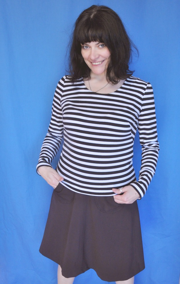 Pattern Frenzy: Lydia Top BurdaStyle
